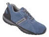 Halbschuh light Velour blau L330 LENNY S1P